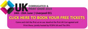 UK Corrugated Print Show 2019