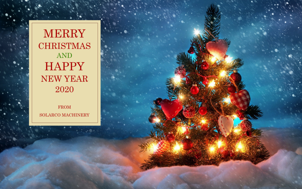 Merry Christmas and Happy New Year SOLARCO Machinery